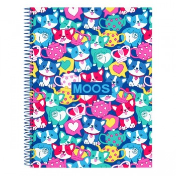 Cahier à Spirale Cats Moos A4